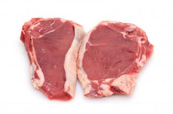 Côte de veau avec os